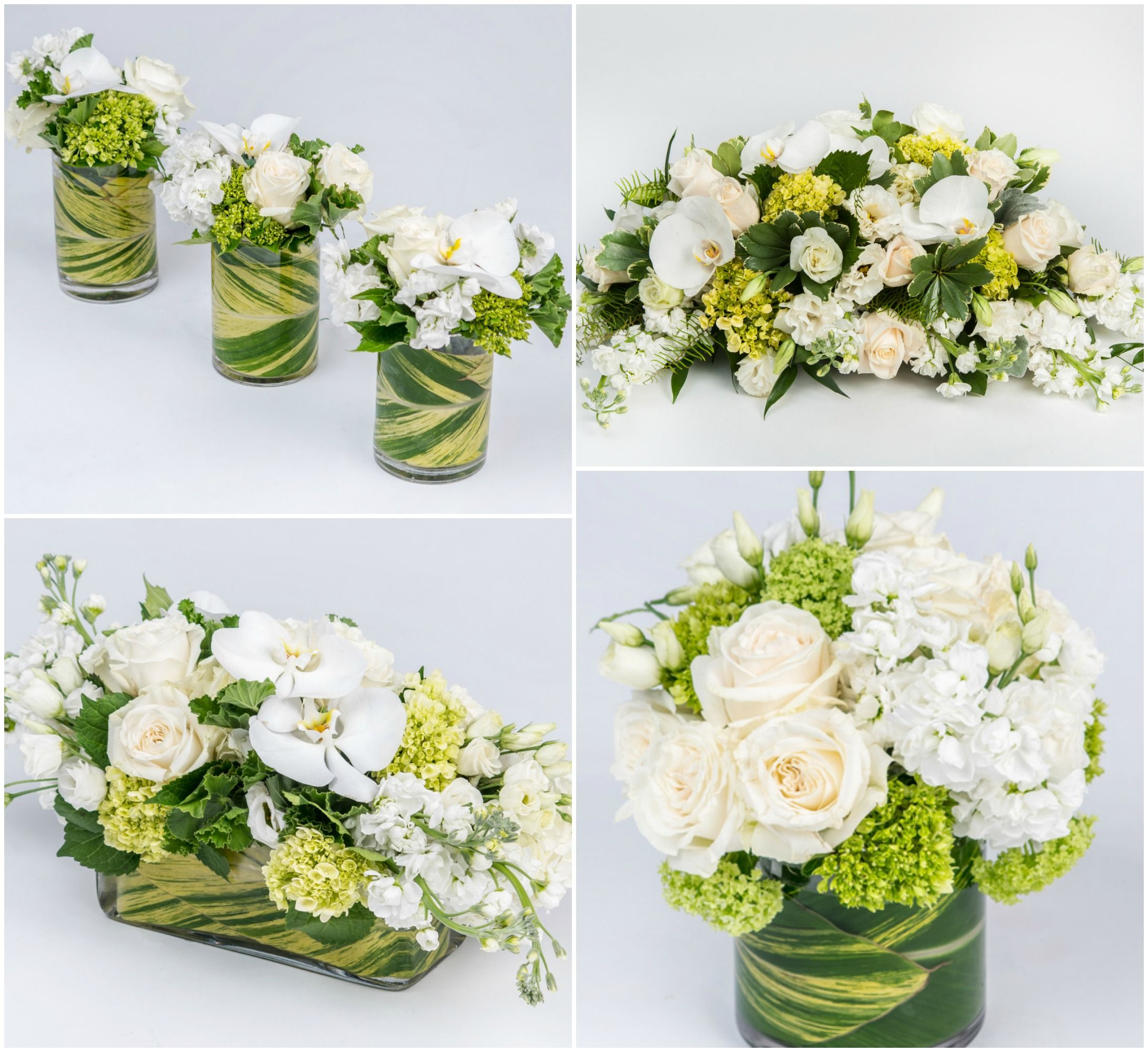 white easter centerpieces - Easter Centerpieces