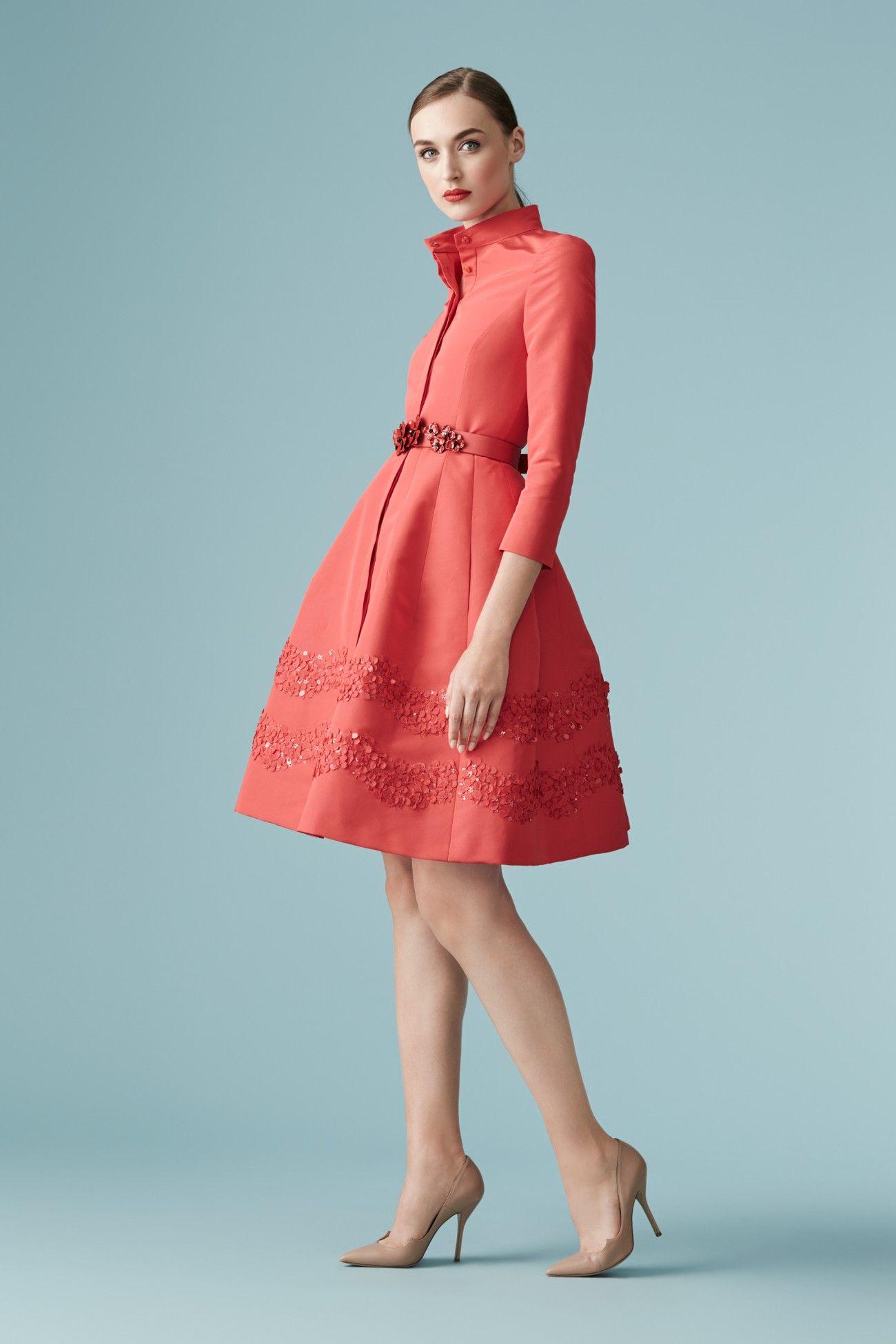 Look 95 Carolina Herrera Наряды Милые платья