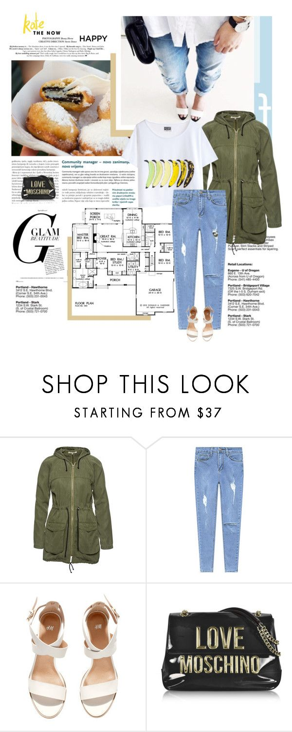 """""""20/02/2017"""" by dunoni ❤ liked on Polyvore featuring Wunderwerk, H&M, Love Moschino, polyvorecommunity and polyvoreeditorial"""