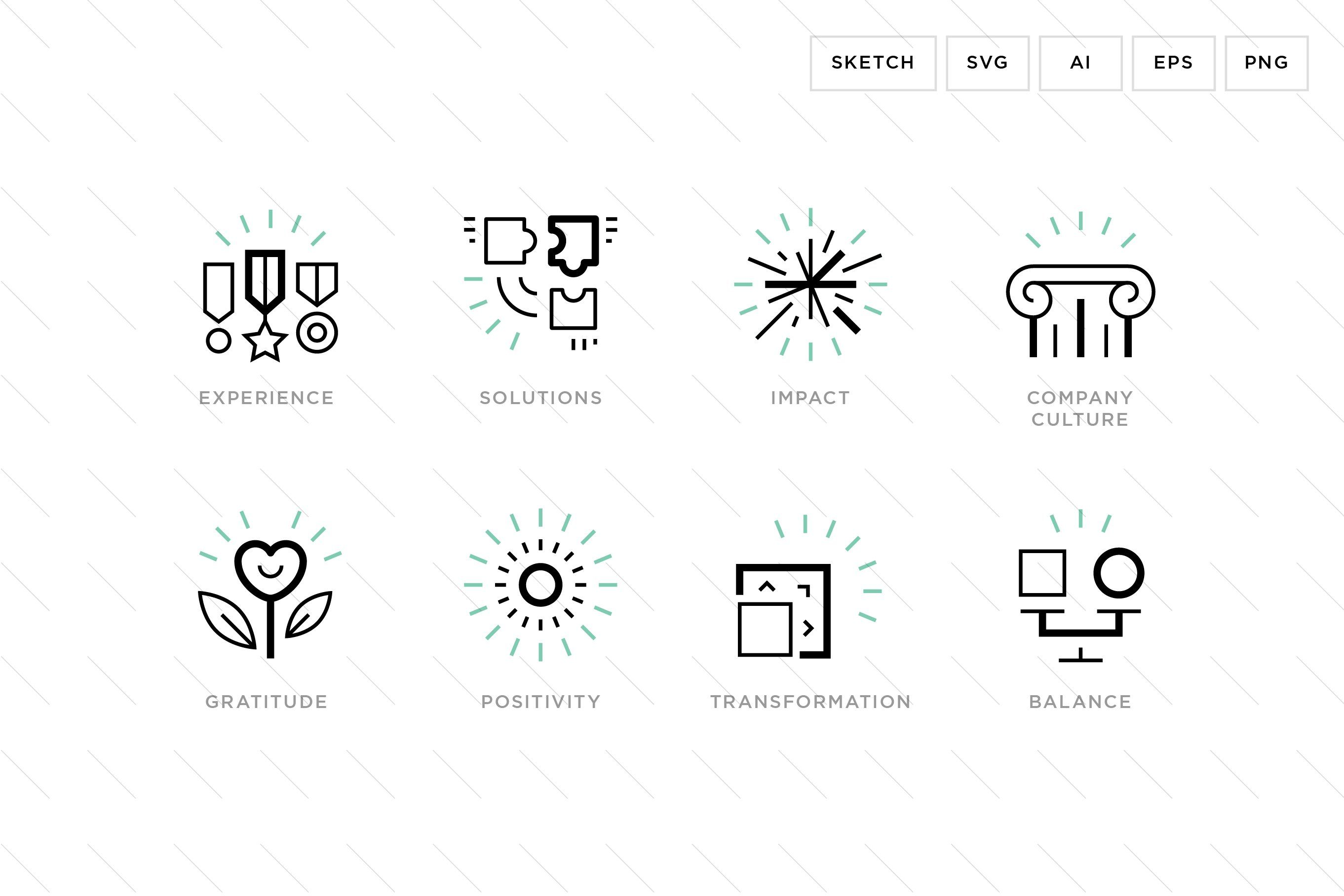 Business Value Icons Business Card Design Creative Icon Business Icon