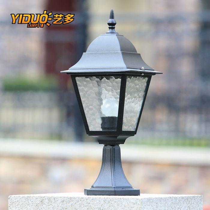 Fashion Wall Light Waterproof Landscape Lamp Post Gate