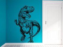 T Rex Dinosaurier Wandaufkleber Wandtattoo