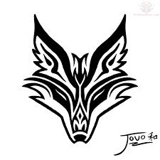 Celtic Fox Art Google Search Fox Tattoo Design Tribal Drawings Wolf Tattoos