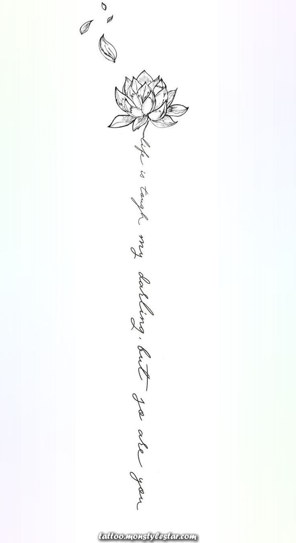 Backbone Tattoo : backbone, tattoo, Legendary, Backbone, Tattoo, Design., -Michaela, Paige., #tattoos, Flower, Design, Spine, Tattoos, Women,, Inspirational, Tattoos,