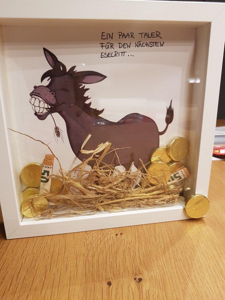 Goldesel Geldgeschenk Mit Bildern Geschenke Kreative Geschenke Lustige Geldgeschenke
