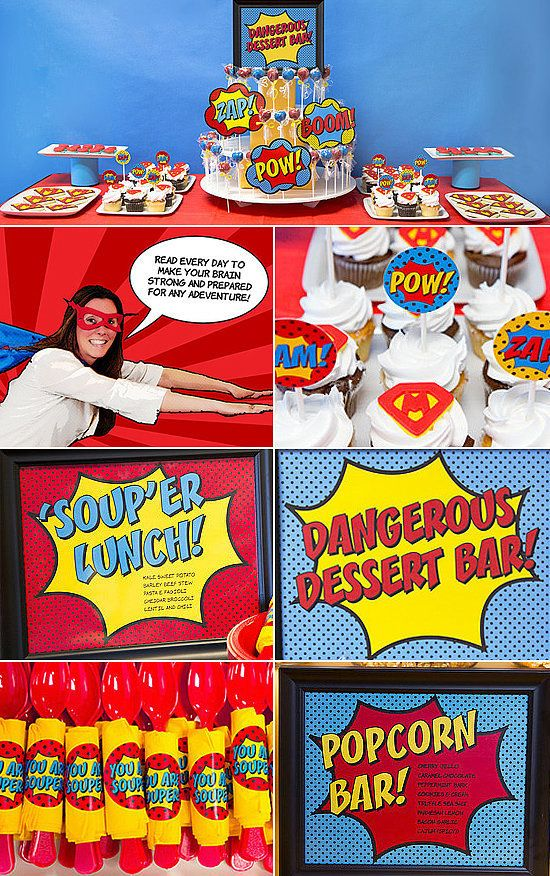 BAM! A Seriously Super Superhero Staff Appreciation Week ...