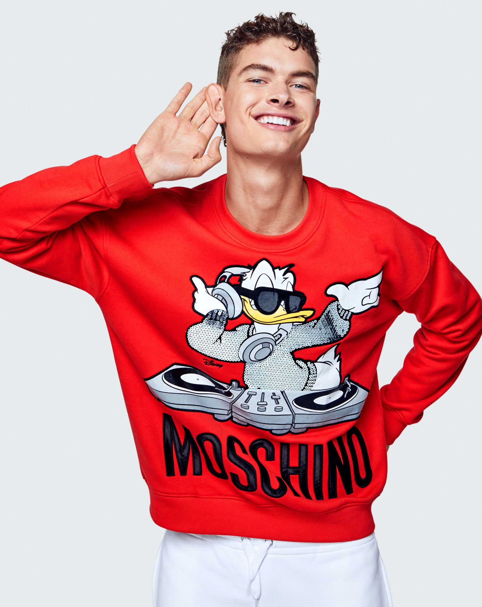 09c5922a75254 The Full Moschino x H&M Lookbook Is Here | Mens fashion | Moschino ...