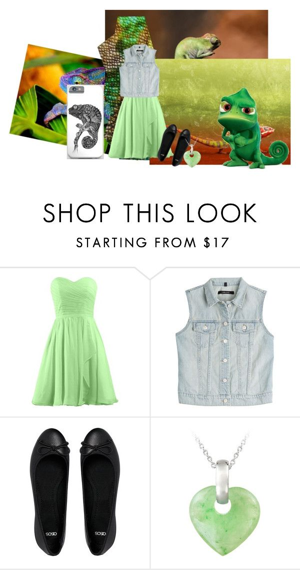 """Chameleon Feeling"" by pigsrock868 ❤ liked on Polyvore featuring J Brand, ASOS, Glitzy Rocks and Disney"