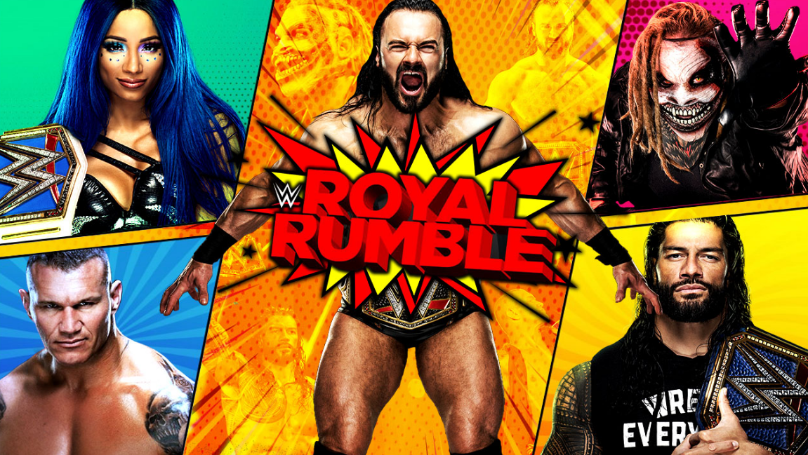 Wwe Royal Rumble 2021 Matches Match Card And Result Prediction In 2021 Wwe Royal Rumble Royal Rumble Wwe
