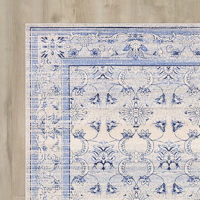 You'll love the Imperial Ivory/Blue Area Rug at Wayfair - Great Deals on all Décor products with Free Shipping on most stuff, even the big stuff.