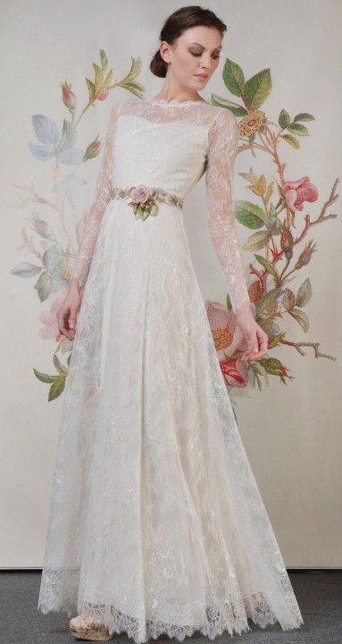 Claire Pettibone \'Charlotte\' wedding gown | Decoupage Collection ...