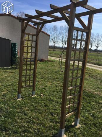37+ Fabriquer arche de jardin en bois trends