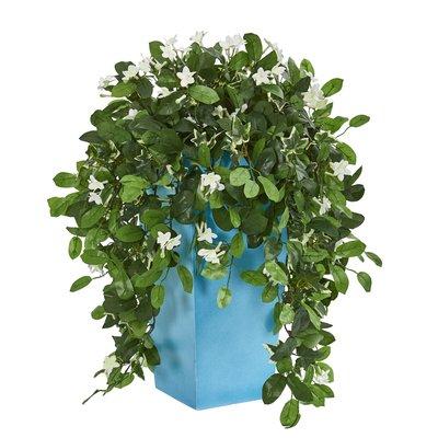 Latitude Run 8 Artificial Foliage Plant In Planter Wayfair In 2020 Artificial Garden Plants Artificial Plants Small Artificial Plants