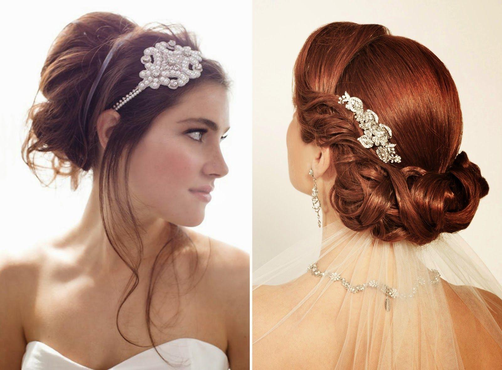 Long Hair Styling Tips: Peinado De Novia!! Guapísima En La Boda, Cabello Corto