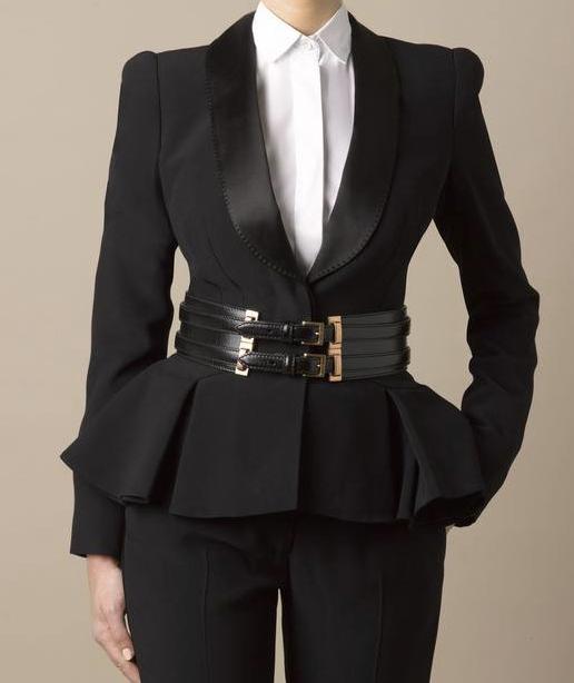 326e564630 Women's smoking jacket   Parisian Chic   Fashion, Womens_fashion ...