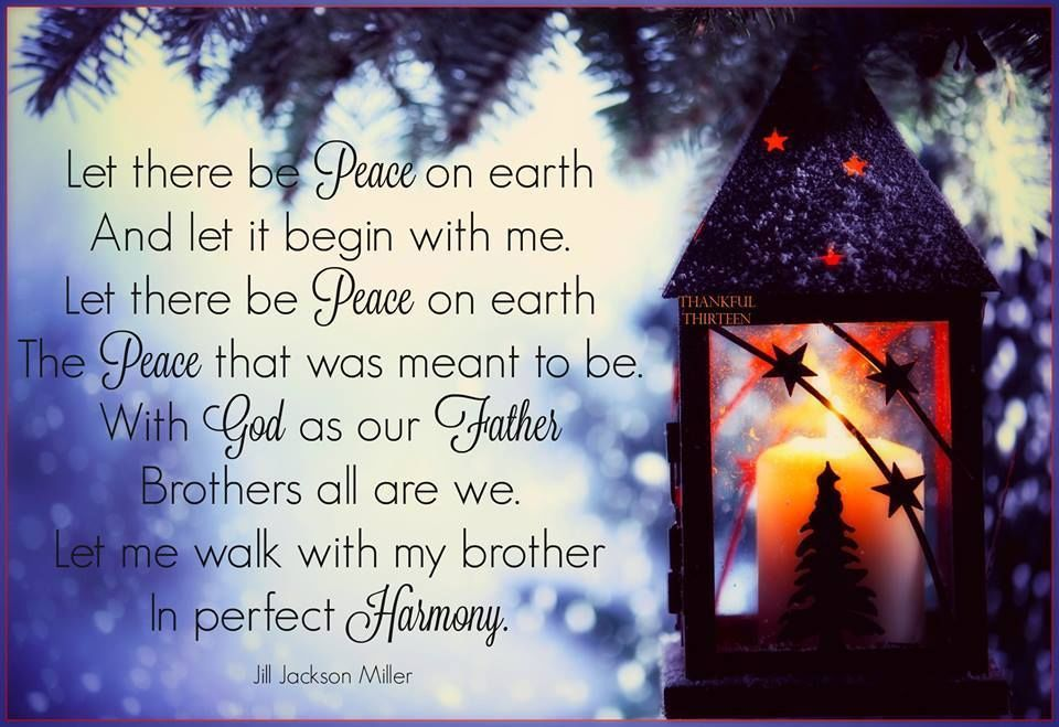 Peace On Earth Peace On Earth Christmas Quotes For Friends Earth