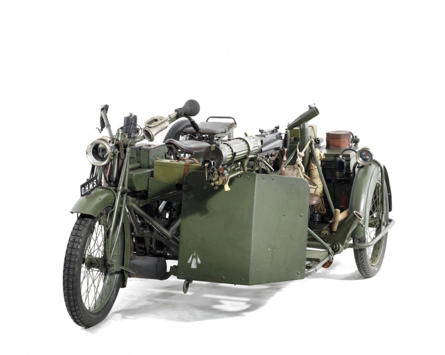 Matchless-Vickers Military Motorcycle, WW1