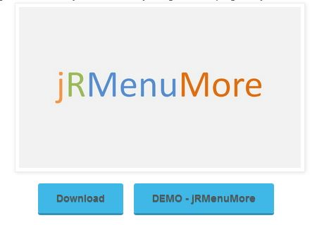 jQuery plugin for Responsive Menu or Navigation Bar with More option