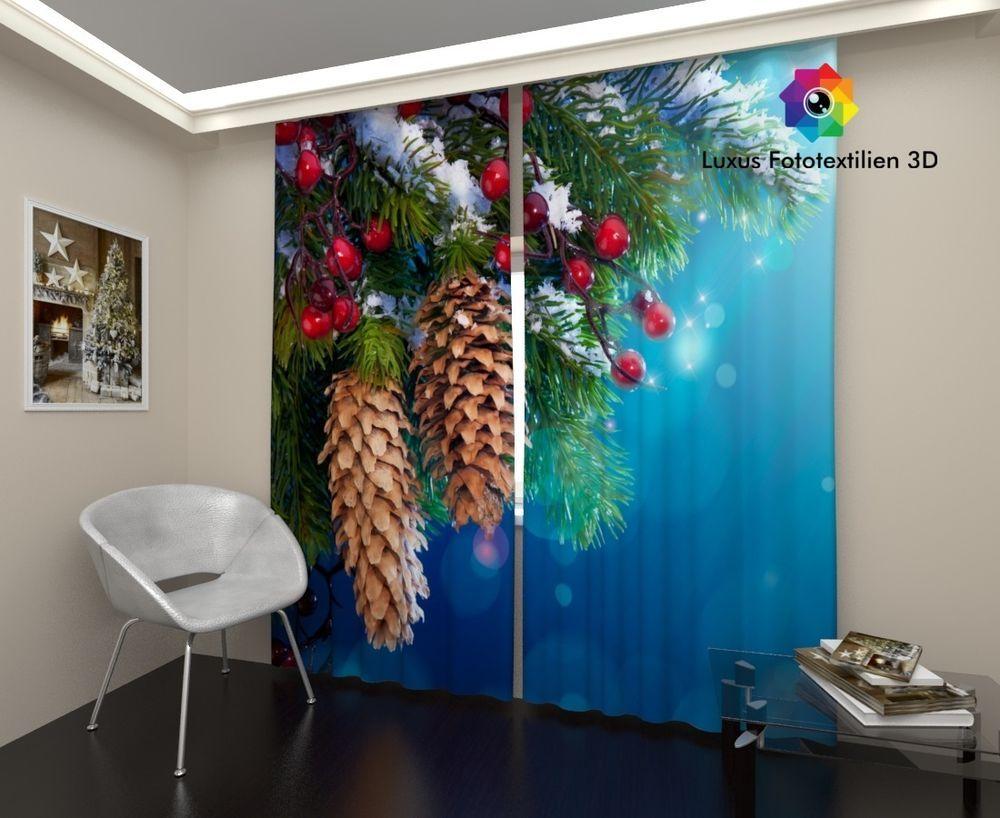 Vorhang Fotodruck fotogardinen foto vorhang vorhänge in luxus fotodruck 3d bei ebay de