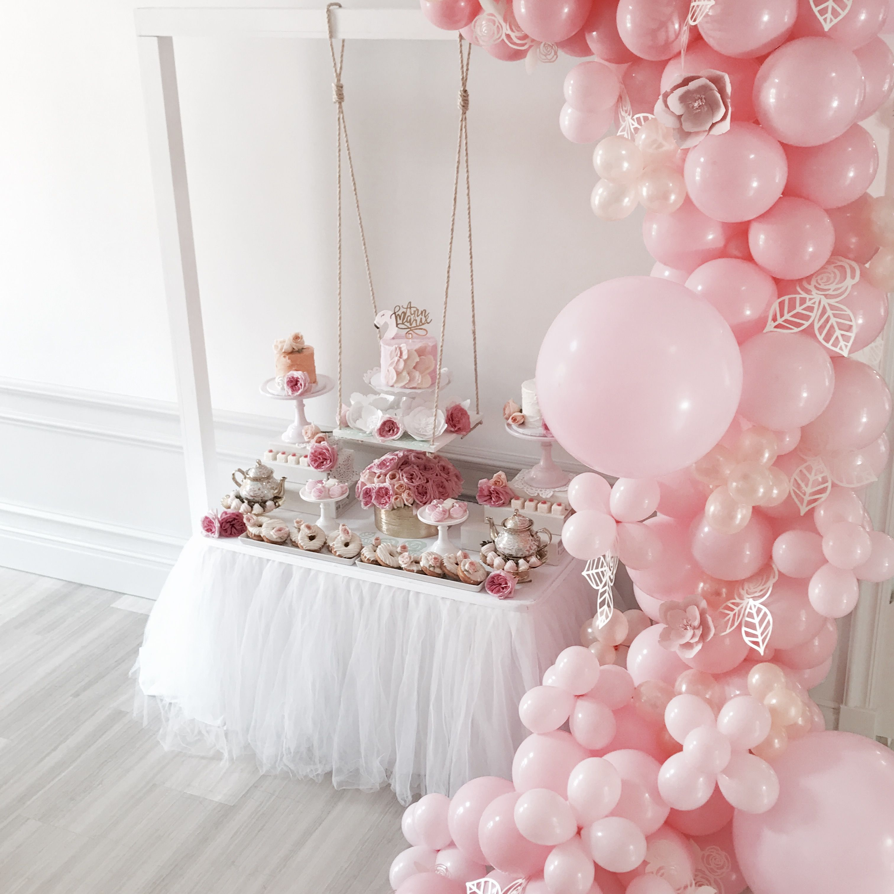 Blushing Bride To Be  Oh Its Perfect #Balloon Arch