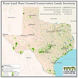Conservation Lands Inventory Texas Land Conservation Land Trust