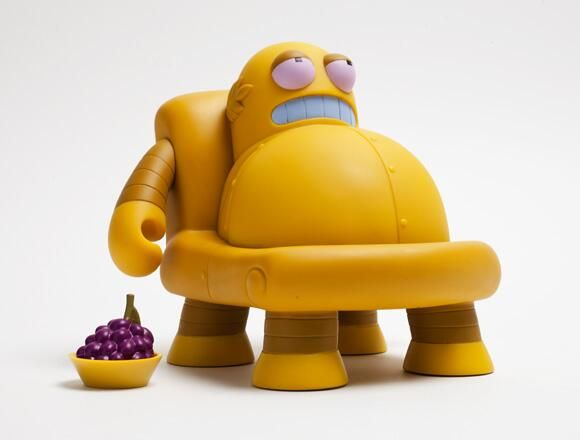 #Futurama's 6'' Hedonismbot by Kidrobot will be available on November 21, 2013!! Price.. $50 D: