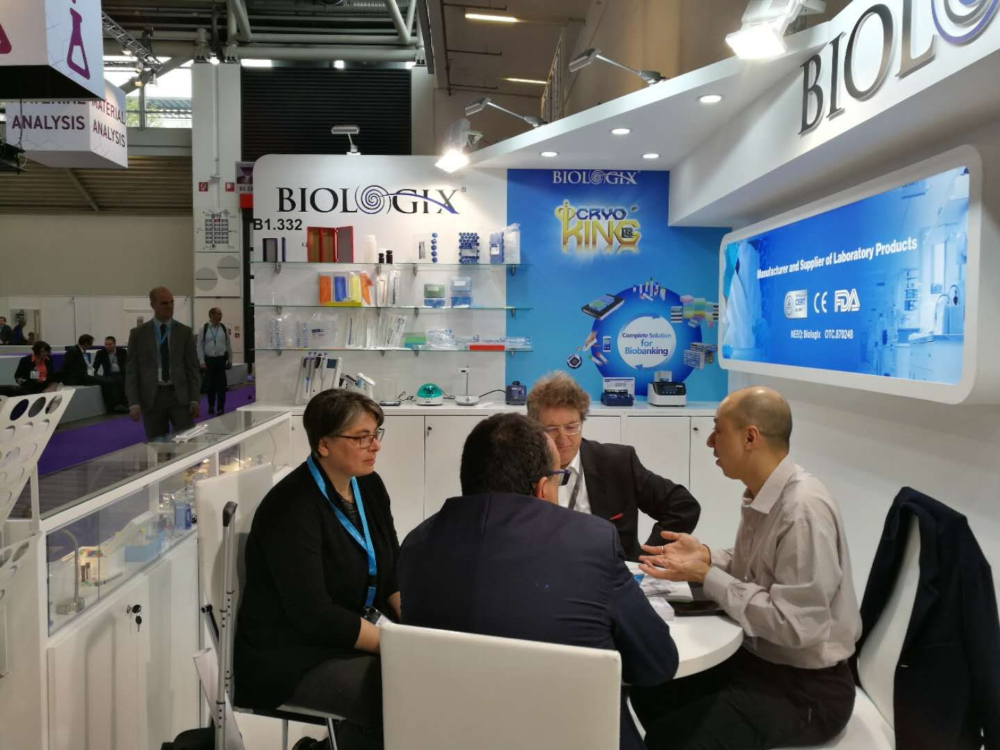 First Day Atytica Welcome To Biologix Booth No