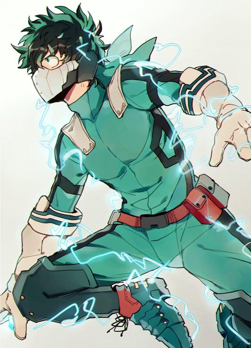 Midorya Izuku Hero My Hero Boku No Hero Academia