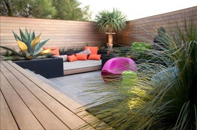 Explore Contemporary Gardens And More! Lounge Garten Möbel Modernes Design  Holzboden Ideen Zen Atmosphäre