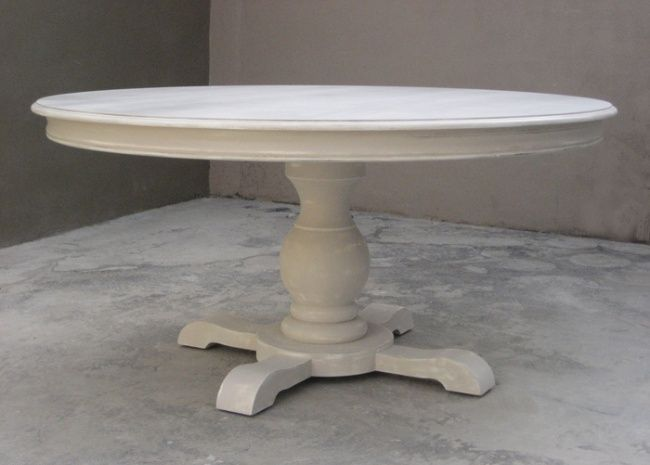 Tavolo allungabile rotondo in stile LUIS GUERIDON | cucina ...