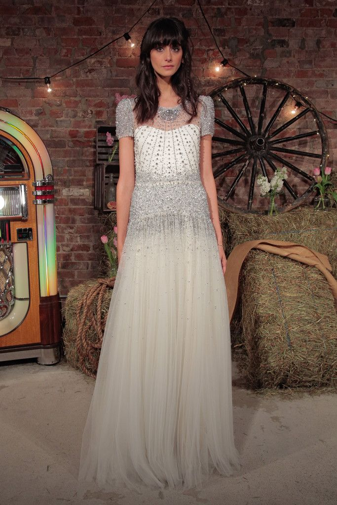 44cd32875eb Jenny Packham Bridal Spring Summer 2017 Presentation