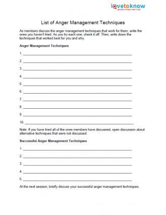 Free Anger Worksheets | Anger management worksheets, Anger ...