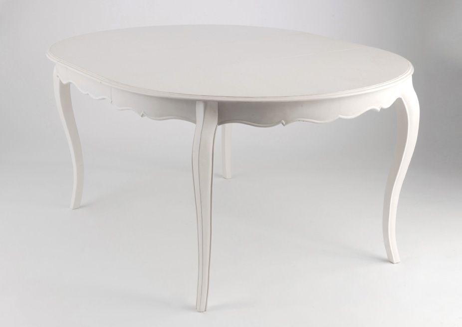 Table ronde extensible Murano 120-160cm sur