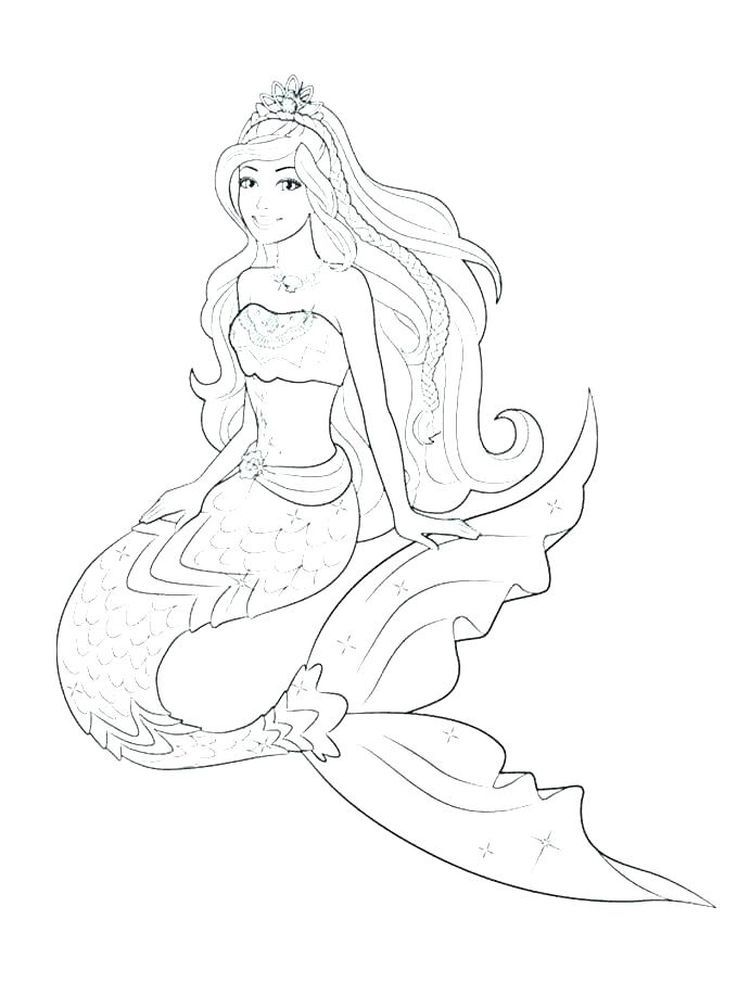 Barbie Mermaid Coloring Pages 025 All Girls Must Know Barbie Barbie Is A Beautiful Doll Mermaid Coloring Pages Mermaid Coloring Kids Printable Coloring Pages