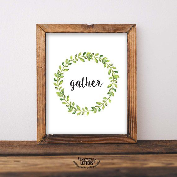 photograph regarding Gather Printable titled Assemble Printable 8x10, lucky Printable, Printable Wall Artwork