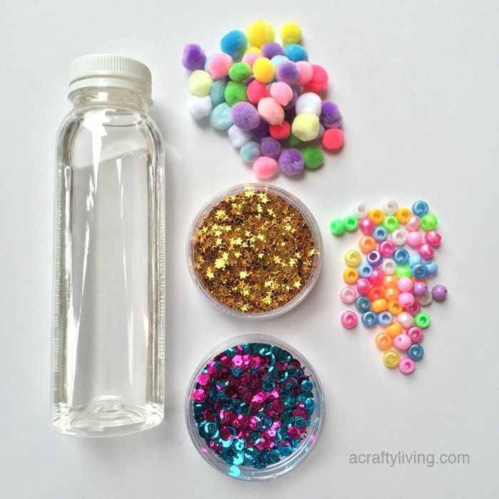 DIY Baby and Toddler Discovery Bottles - A Crafty LIVing