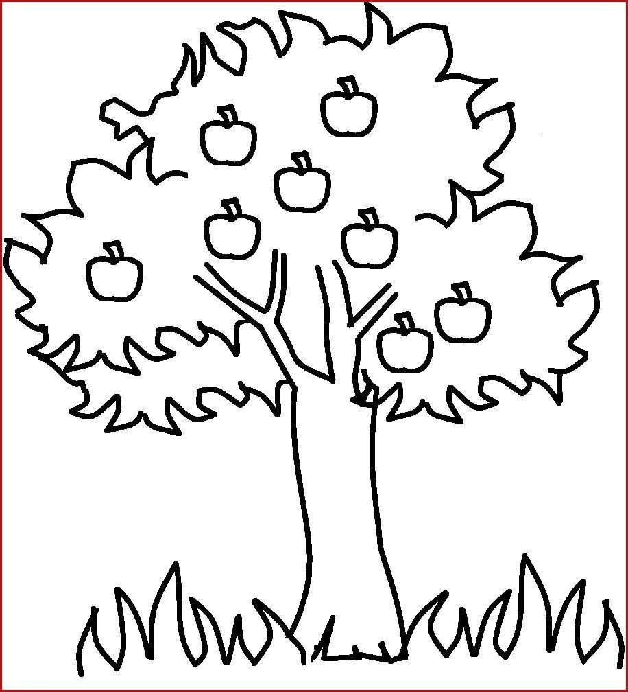 Apple Tree Coloring Page Beautiful Coloring Book World Fall Tree Coloring Pages For Kids To Print In 2020 Tree Coloring Page Coloring Pages Leaf Coloring Page