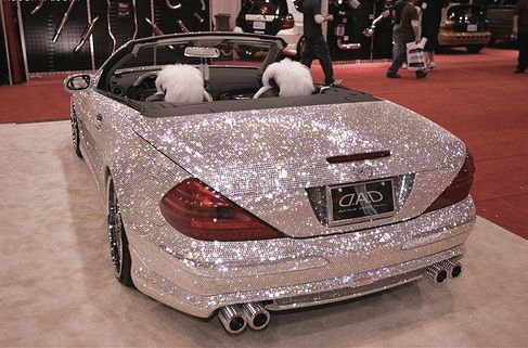 I really think this needs to be my next car. Every girl needs this in the garage of her dream home. How cool is it???