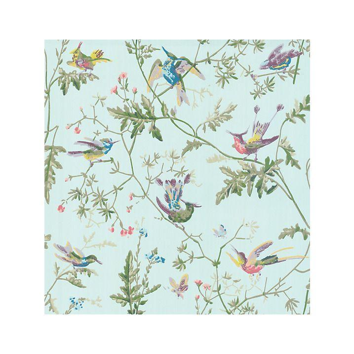 Cole & Son Hummingbirds Wallpaper, 100/14069 Desenler