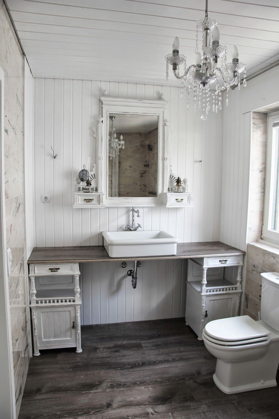 Foto Bagni Stile Country 01.06.2014+001 (1066×1600) | shabby chic bathroom