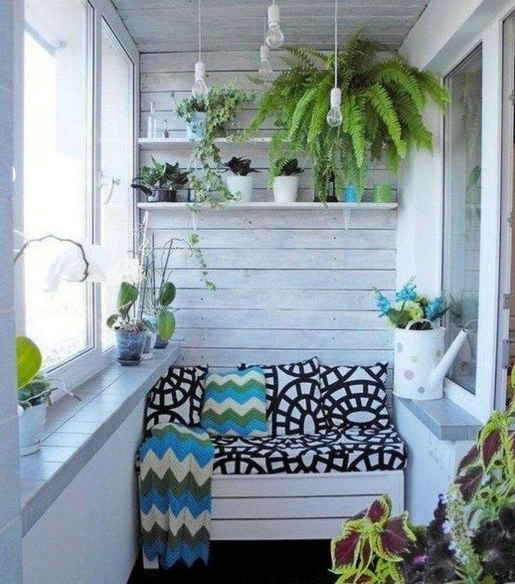 40 Perfect Spring Apartment Patio Decoration Ideas ...