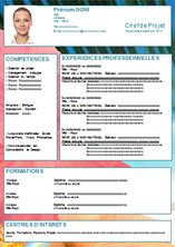 Cv Par Competences Un Modele Adapte Aux Juniors Aux Seniors Et Aux Modele Cv Telecharger Cv Exemple Cv