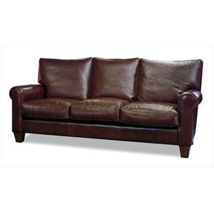 Beacon Hill Leather Sofa In Archer Malt Nebraska Furniture Mart