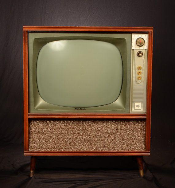 1957 Airline Color Conversion Retro Modern Tv 50s Mid Vintage Electronics Vintage Television Modern Tv