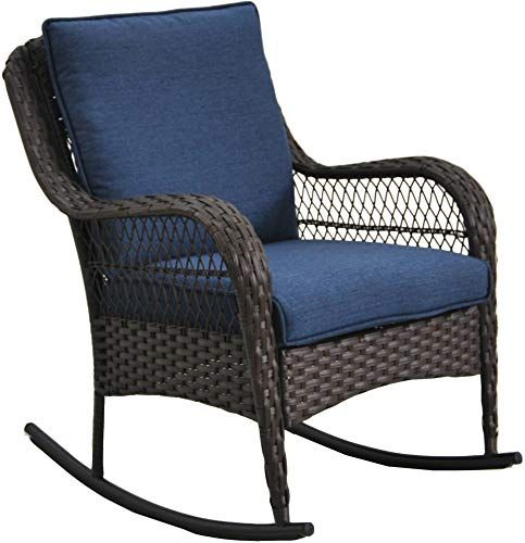 Stupendous Buy Better Homes Gardens Colebrook Rocking Chair Blue Ibusinesslaw Wood Chair Design Ideas Ibusinesslaworg