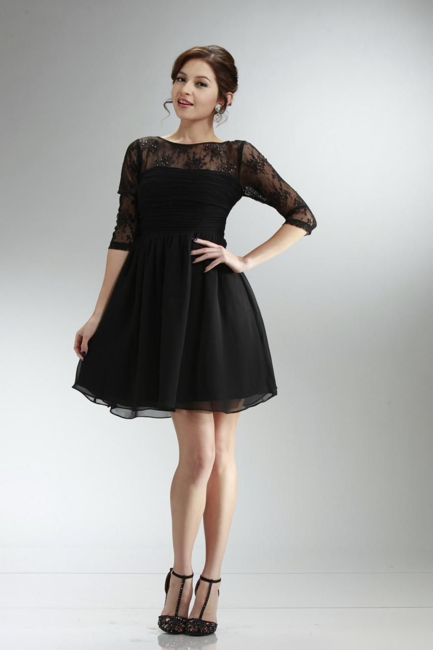 Long white lace party dress for juniors
