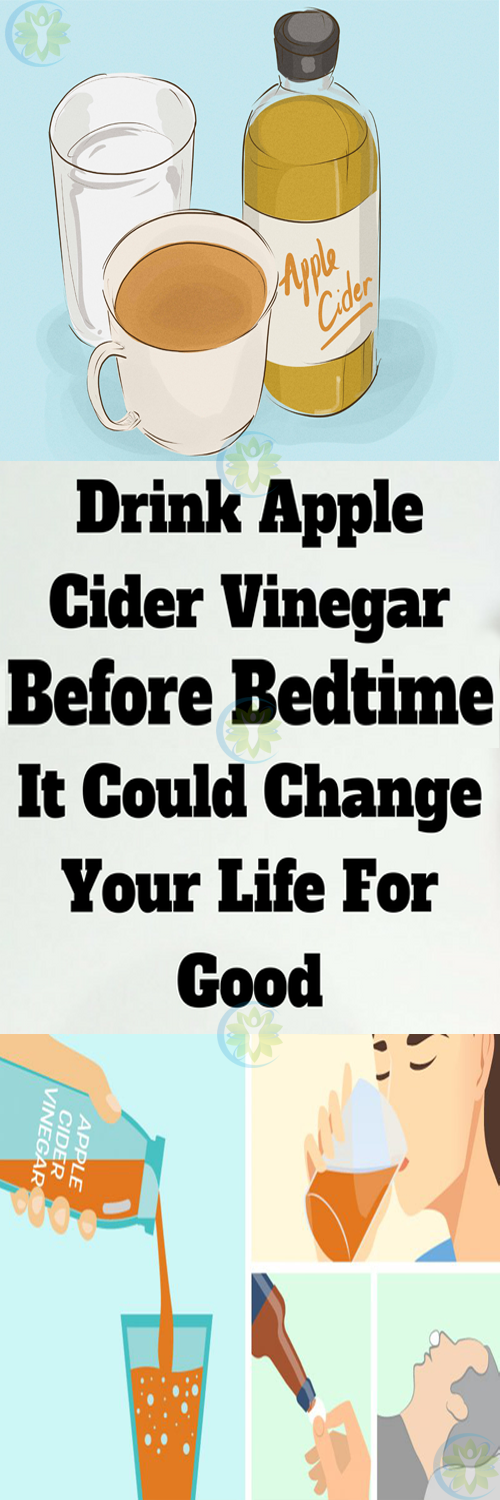 Drink Apple Cider Vinegar Before Bed for These 10 Amazing