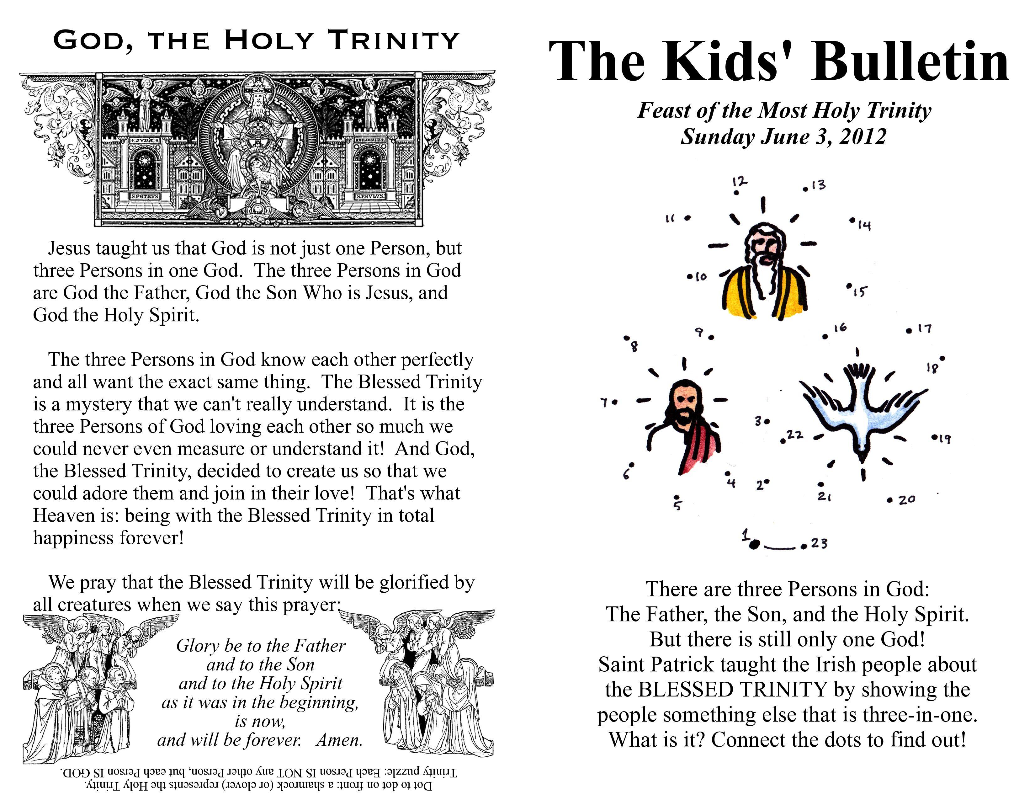 with a faithful heart the trinity for kids religious education