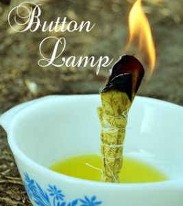 DIY Easy Button Lamp | Make this improvised lamp for emergency situations #diyready www.diyready.com