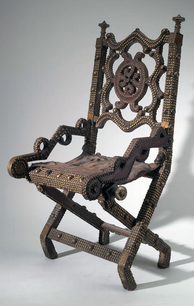 Africa chair from the ashanti people of ghana wood